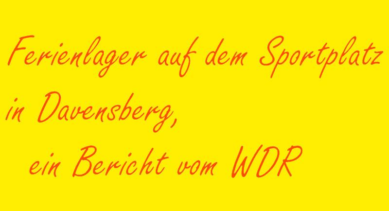 hier der Link zum WDR - Bericht...